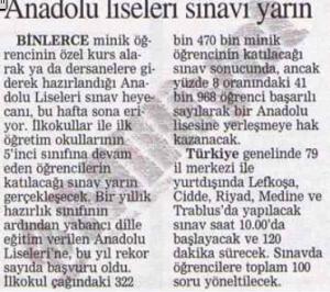 1996 Milliyet Gazetesi