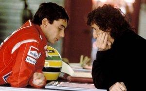 Düşman kardeşler Senna ve Prost.
